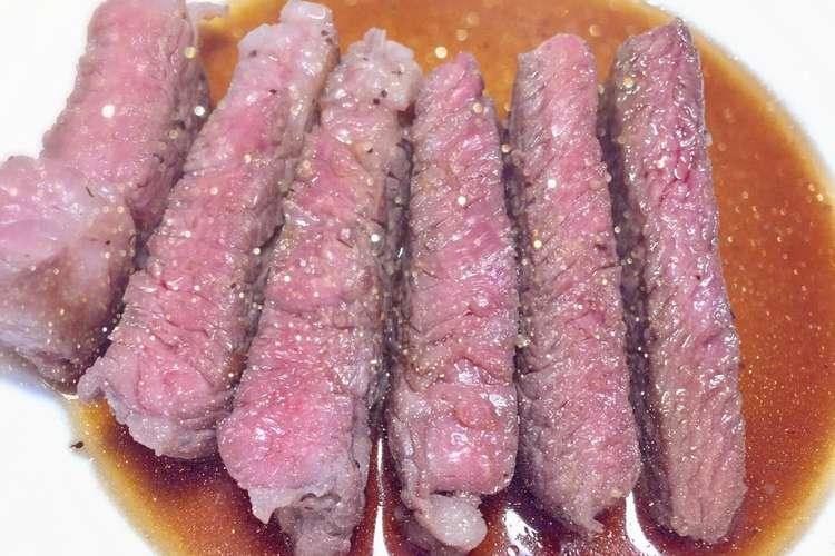 作り方 ステーキ ソース