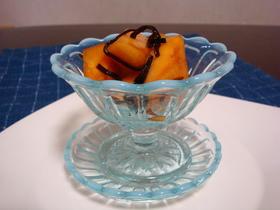 前菜に!甘辛美味しい、柿の和え物☆