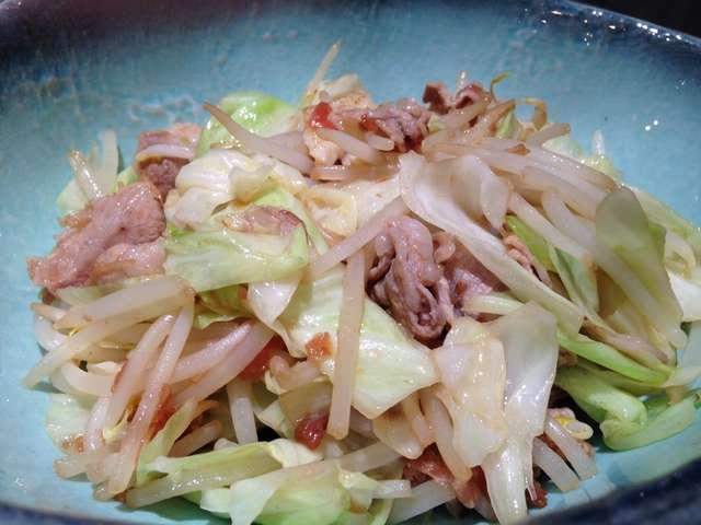 豚 バラ キャベツ ポン酢