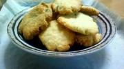 オリーブオイルと黒糖のラベンダークッキーの写真