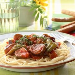 ラタトゥイユのスパゲティ