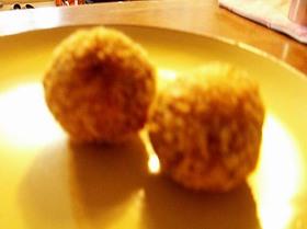 ルー大柴?サツマイモのカレールーコロッケ