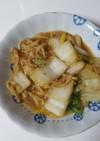 白菜とえのきですき焼き風