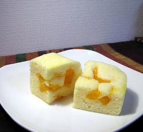 有田みかんのヨーグルト蒸しパン