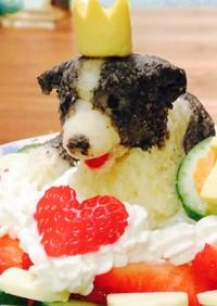 わんこ用♡スフレチーズケーキ風