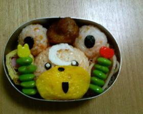 ヒメグマ弁当 (ポケモンキャラ弁)