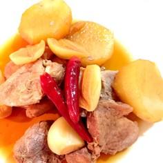 豚ヒレ肉&長芋&にんにくのスタミナ煮