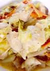 鶏胸肉と野菜のごま味噌マヨネーズ炒め