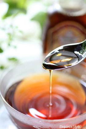 香り漂う「メープル風味紅茶」