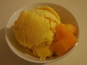 材料3つ!マンゴーアイスクリーム