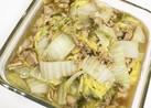 材料2つ白菜とツナのうま煮