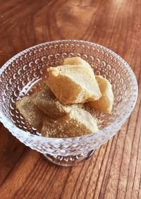 わらび粉で簡単本格わらび餅