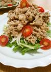 薄切り豚肉のマリネ♡簡単サラダ仕立て