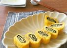 簡単アレンジ卵焼き☆なめたけ卵の渦巻き