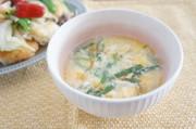 簡単3分!にらと玉子の酸辣湯スープの写真