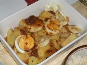 ☆じゃが芋&ゆで卵の味噌オーブン焼き★