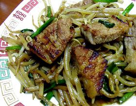 ピリ辛焼き肉