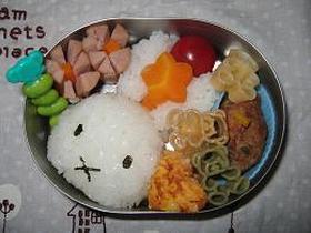 ミッフィーちゃん弁当 ☆キャラ弁☆