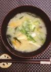 納豆のお味噌汁  *秋田の納豆汁風*