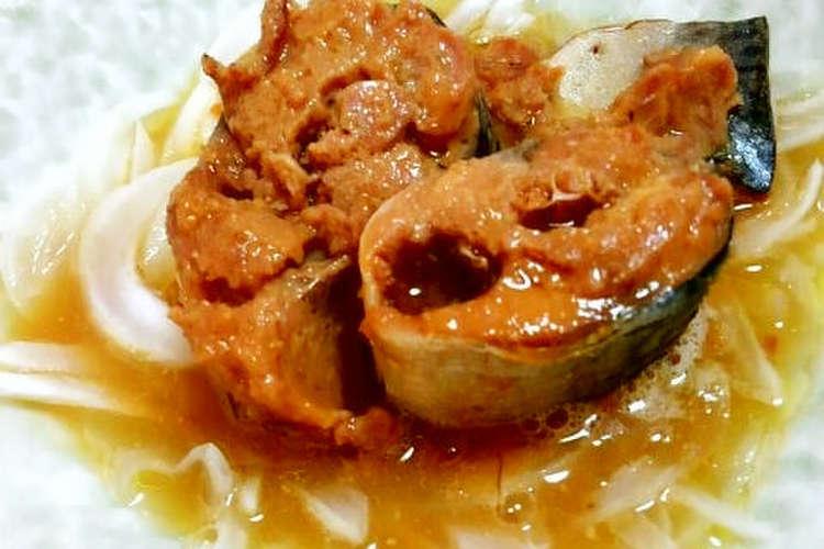 玉ねぎ 缶 味噌 鯖 煮