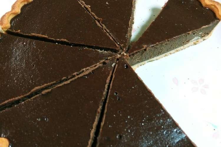 タルト 簡単 チョコ