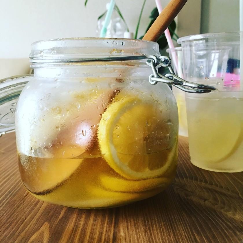 レモネードのための♡レモンシロップ