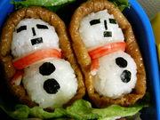 雪だるま稲荷♪お弁当にどうぞ☆の写真