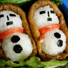 雪だるま稲荷♪お弁当にどうぞ☆