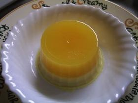 オレンジ♪ココナッツミルク寒天ゼリー