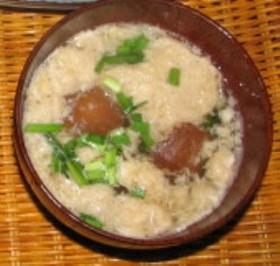 つくね芋のスープ