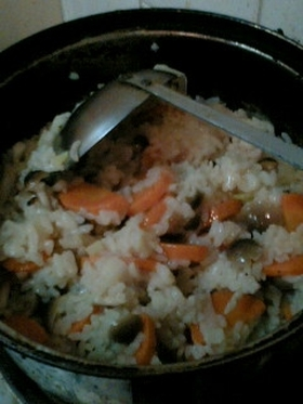 朝にぴったり!コンソメスープ雑炊☆★