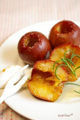 焼きりんご*ベイリーズでバニラ風味