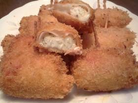冷凍ポテトDEハムチーズ巻きフライ✿