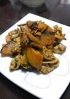 ぶた肉とかぼちゃ炒め