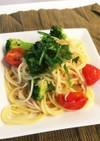 簡単健康ランチ 鯖とブロッコリーのパスタ