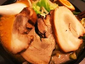 男の料理〜!味噌ラ〜メ〜ン!!