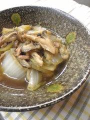 ✿白菜ときのこのしみじみ煮✿の写真
