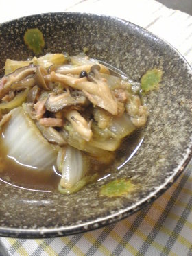 ✿白菜ときのこのしみじみ煮✿