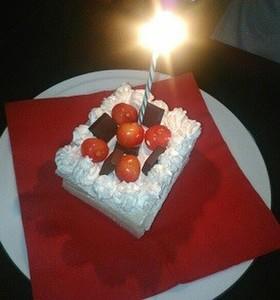 卵アレルギーでも食べられる誕生日ケーキ