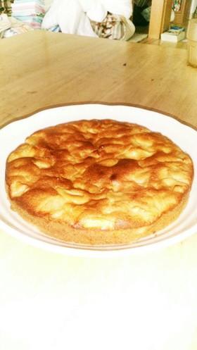 冬に作ろうりんごケーキ