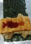 玄米くるみもち:お弁当に持っていく焼き餅