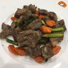 ガッツリお肉 牛カルビ焼