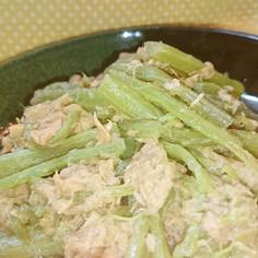水煮ふきのツナ炒め☺