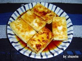 超ー簡単 (^_^)v 豆腐ステーーーキ