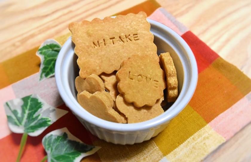 米粉の塩きなこクッキー