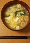健康思考味噌汁005 ニラ&えのき茸