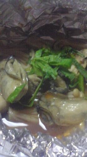 今から旬❤牡蠣のホイル焼き❤