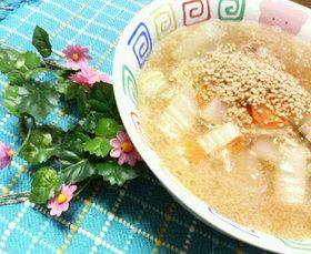 メインになる♡美味♥白菜とろとろスープ♡