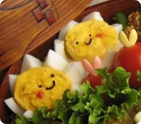 おひさま卵チャン♪(お弁当)