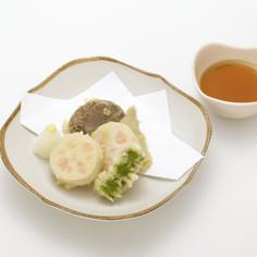 業務用介護食 おしゃれんこんの天ぷら